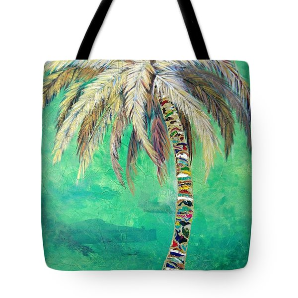 Verdant Palm Tote Bag by Kristen Abrahamson