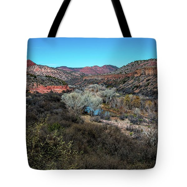 Verde Canyon Oasis Tote Bag