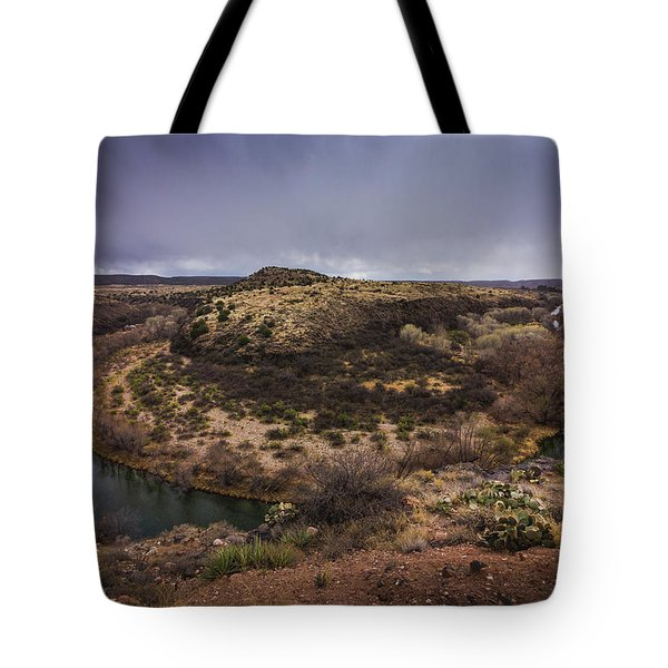 Verde River Horseshoe Tote Bag