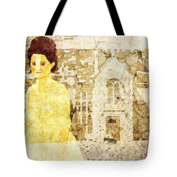 Verity Poldark Tote Bag