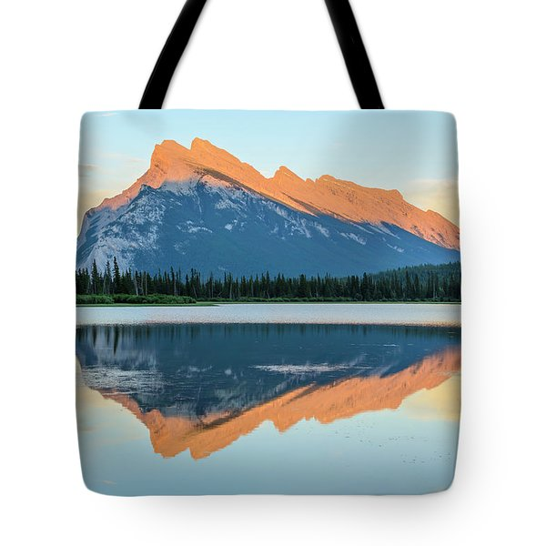 Vermillion Lakes Tote Bag