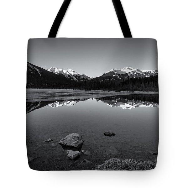 Vermillion Mono Tote Bag