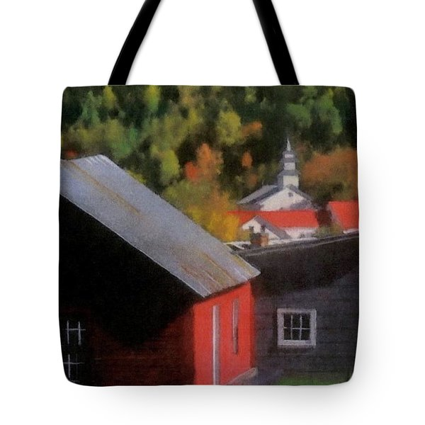 Vermont Again Tote Bag