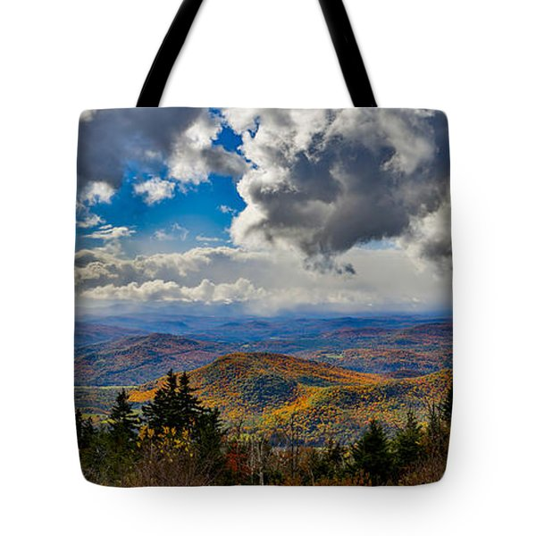 Vermont Autumn From Mt. Ascutney Tote Bag