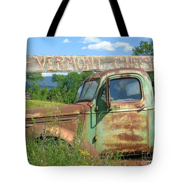 Vermont Cheese Tote Bag
