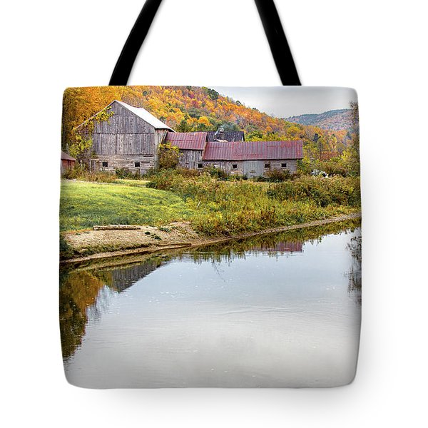 Vermont Countryside Tote Bag