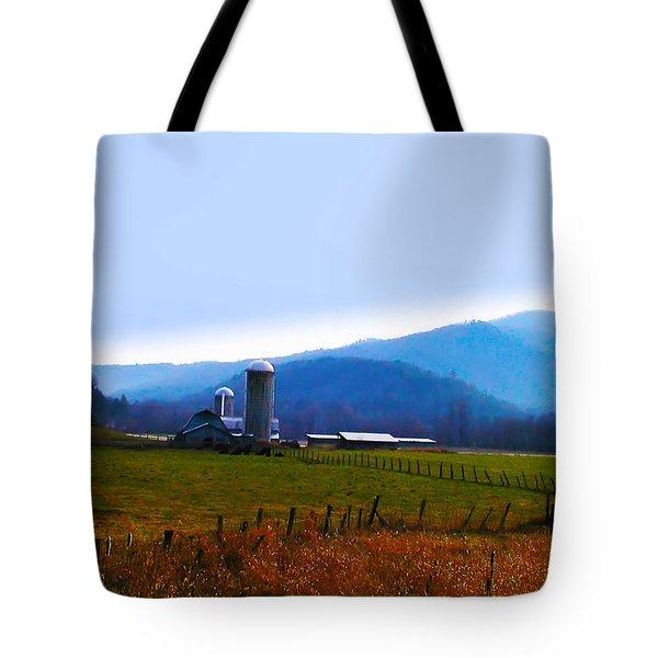 Vermont Farm Tote Bag by Bill Cannon