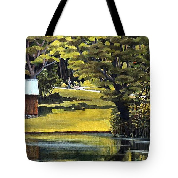 Vermont Greens Tote Bag