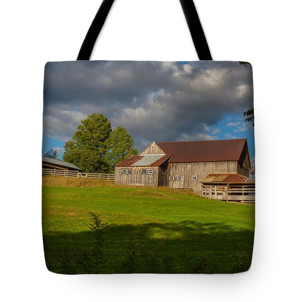 Vermont Hilltop Farm Tote Bag