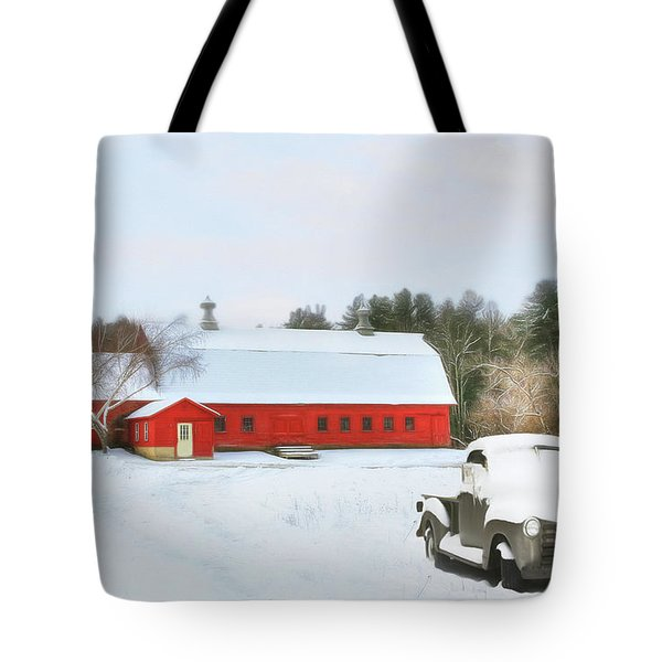 Vermont Memories Tote Bag by Sharon Batdorf