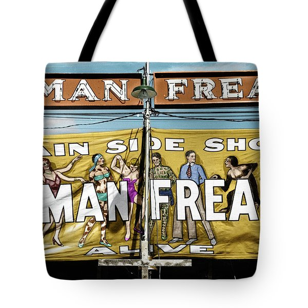 Tote Bag featuring the photograph Vermont Sideshow by Granger