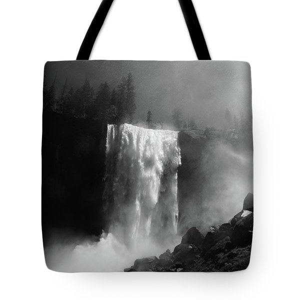 Vernal Fall And Mist Trail Tote Bag