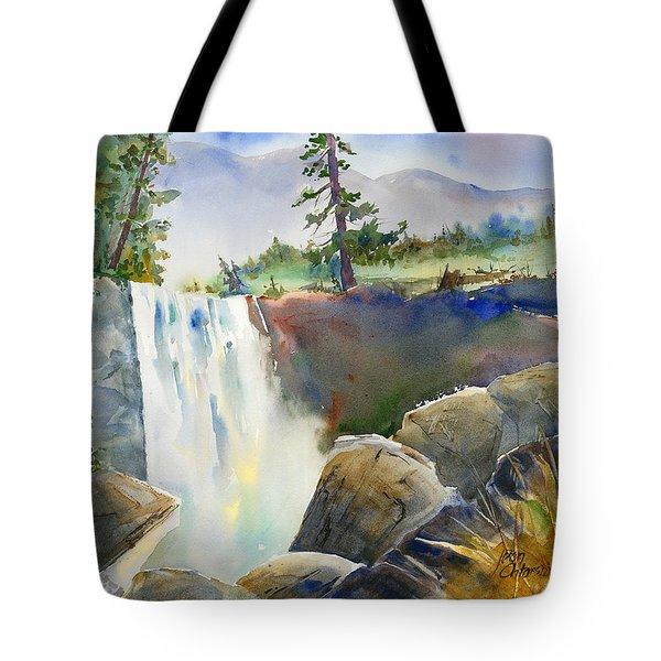 Vernal Falls Tote Bag