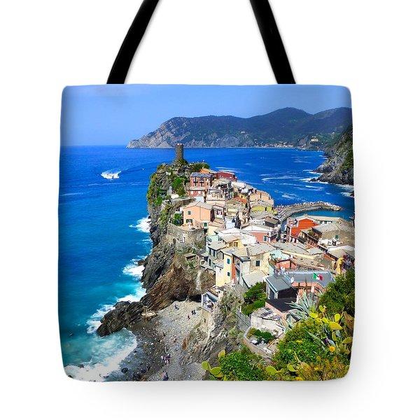 Vernazza Cinque Terre Tote Bag