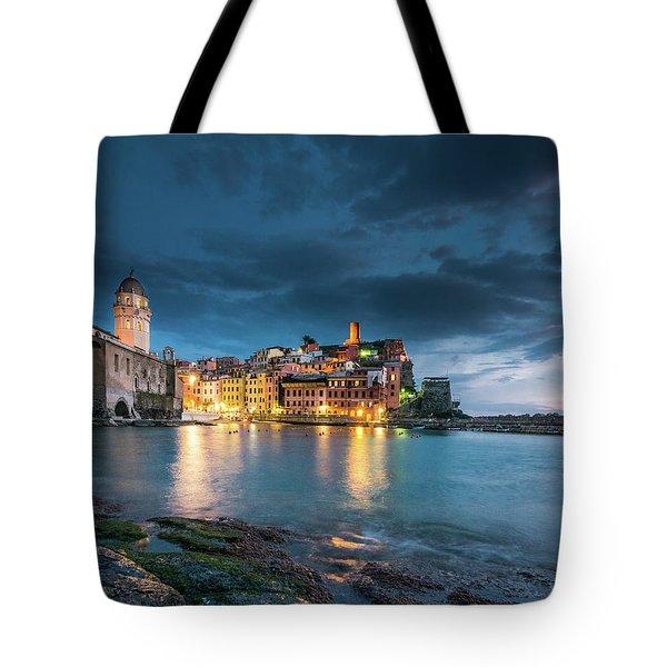 Vernazza - Cinque Terre Tote Bag