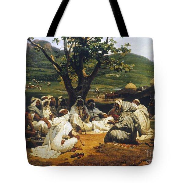 Vernet: Arab Tale-teller Tote Bag by Granger