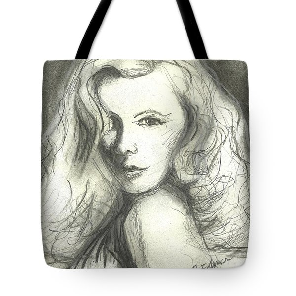 Veronica Lake Tote Bag