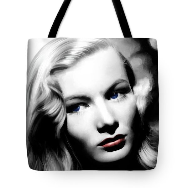 Veronica Lake Portrait #1 Tote Bag