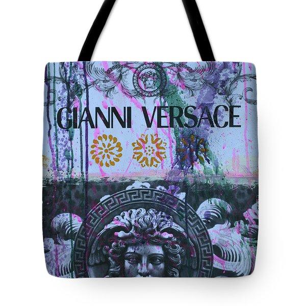 Versace Logo 2 Tote Bag