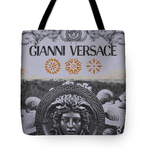 Versace Logo Tote Bag