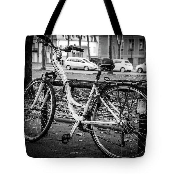 Versailles Bicycle Tote Bag