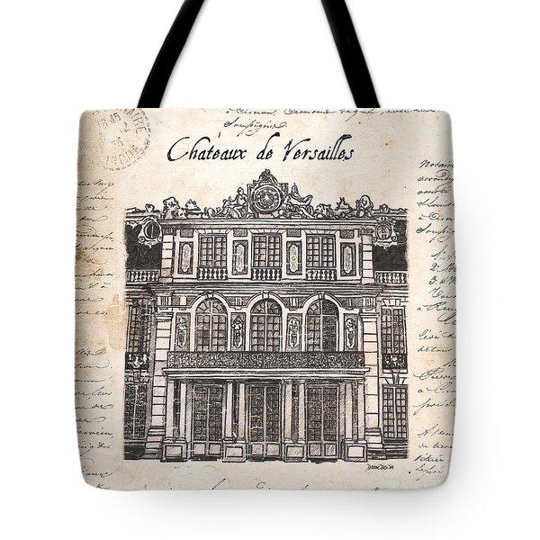 Versailles Tote Bag