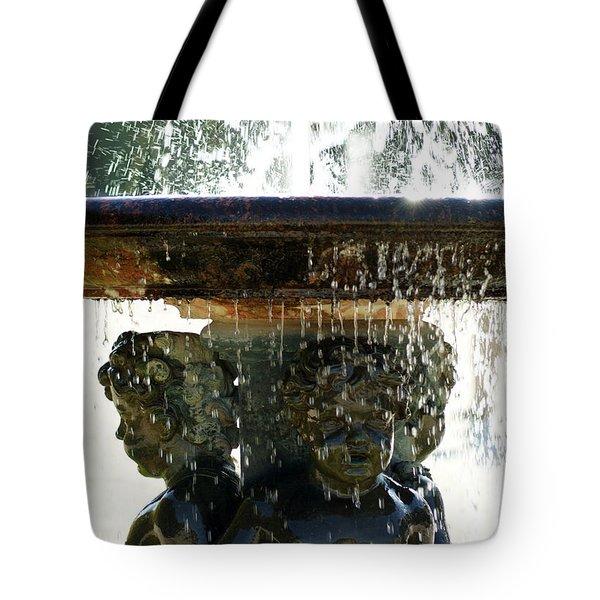 Versailles Fountain Tote Bag