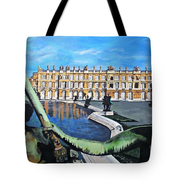 Versailles Palace Tote Bag by Francine Heykoop