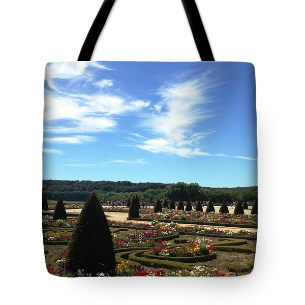 Versailles Palace Gardens Tote Bag by Therese Alcorn