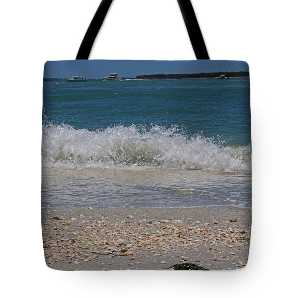 Tote Bag featuring the photograph Verses Out Of Rhythm by Michiale Schneider
