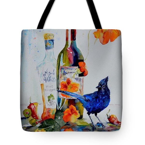 Still Life With Steller's Jay Tote Bag