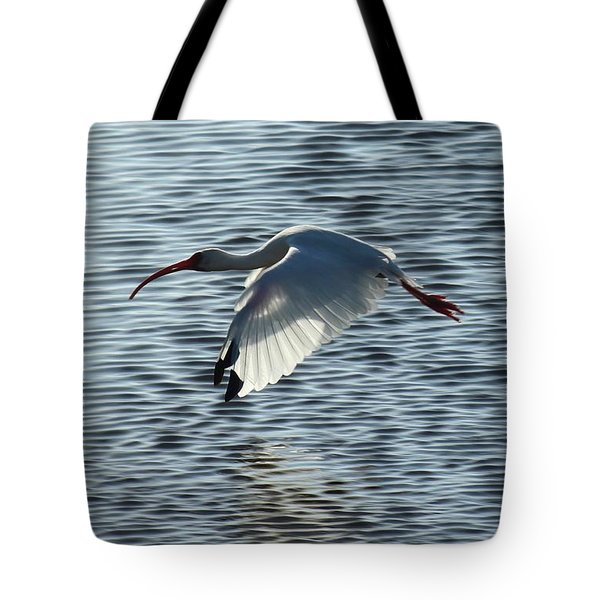 Ibis Fly By Tote Bag