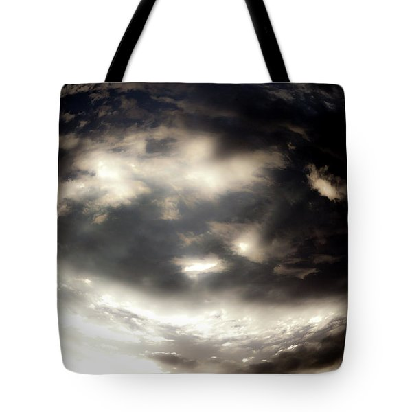 Tote Bag featuring the photograph Versus by Eric Christopher Jackson
