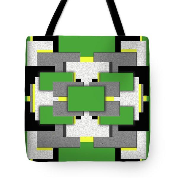 Vert Moderne Tote Bag by Tara Hutton