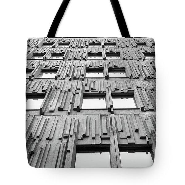 Vertical Lines Tote Bag