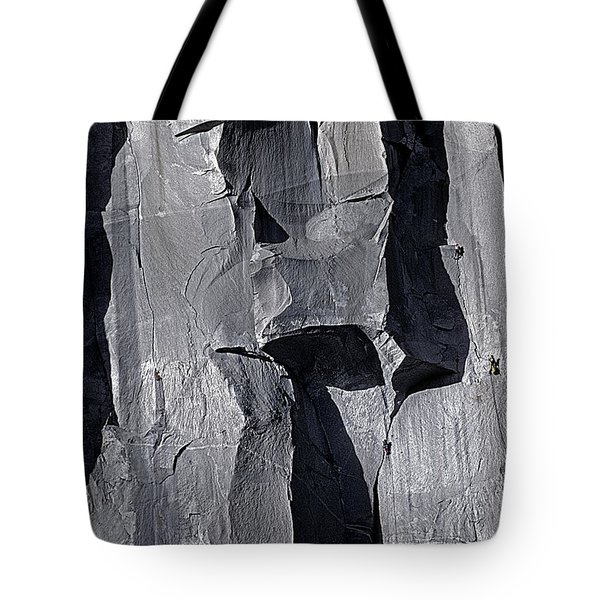 Vertical Trails Tote Bag