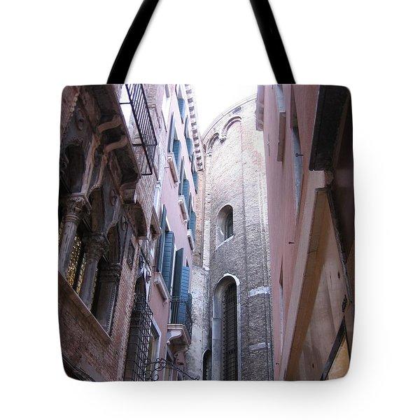 Vertigo In Venice Tote Bag