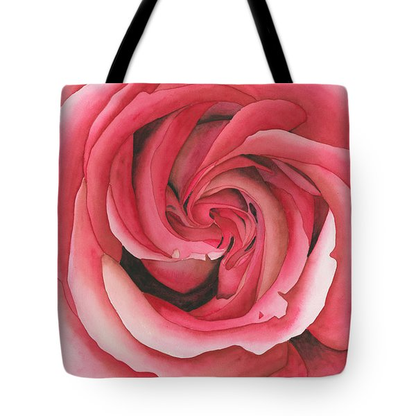 Vertigo Rose Tote Bag by Ken Powers