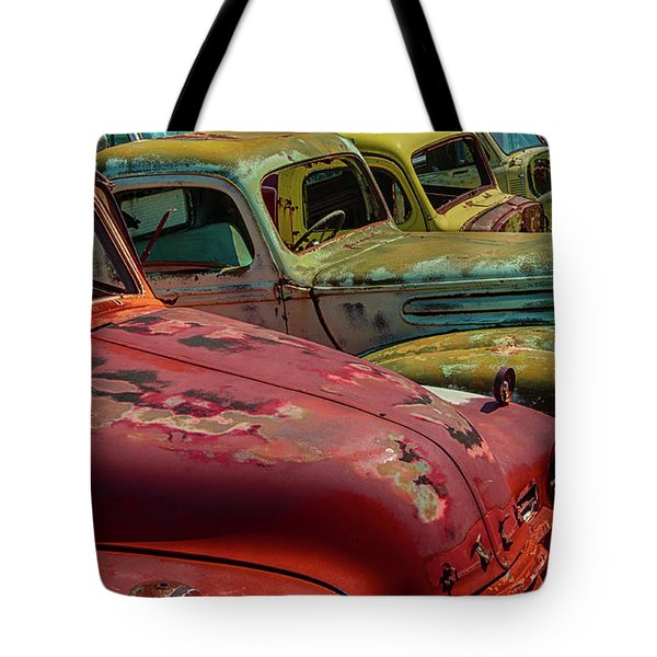 Very Late Models Tote Bag