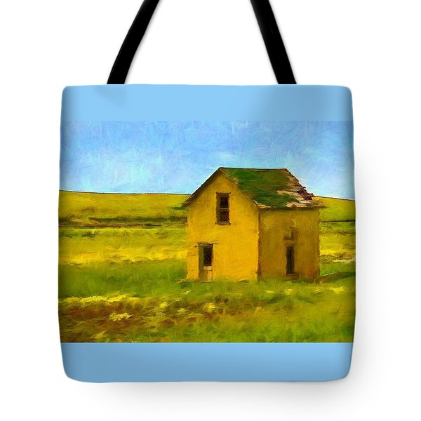 Very Little House Tote Bag