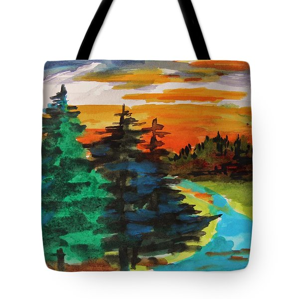Very Quiet Tote Bag by John Williams
