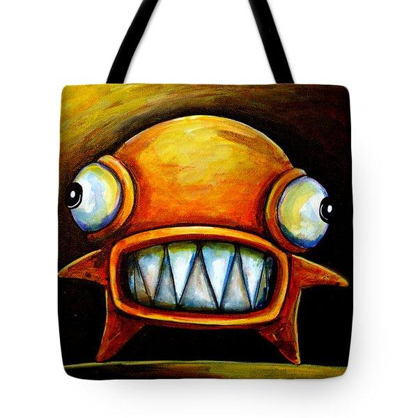 Very Scarey Glob Tote Bag
