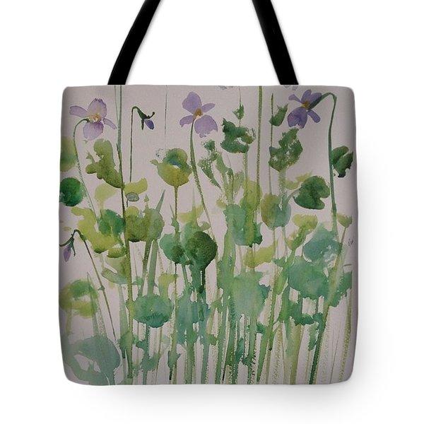 Very Violet Tote Bag
