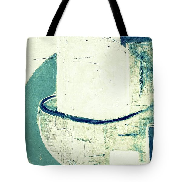 Tote Bag featuring the painting Vessels 6  by VIVA Anderson