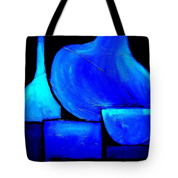 Vessels Blue Tote Bag