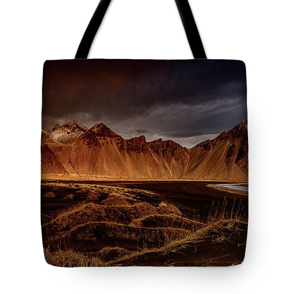 Vestrahon With Sunglow Tote Bag