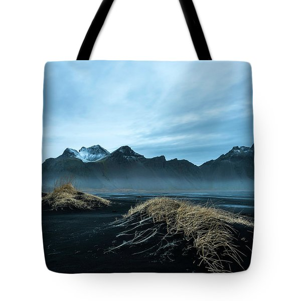 Vestrahorn Mountain Evening Tote Bag
