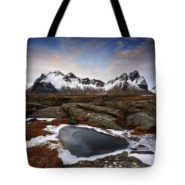 Vestrahorn Tote Bag by Roddy Atkinson