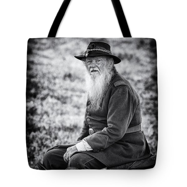 Veteran Soldier Tote Bag