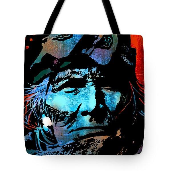 Veteran Warrior Tote Bag by Paul Sachtleben